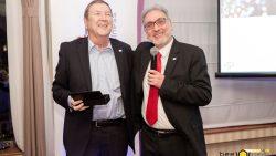 Heinrich Hess (l) und Attilio Barisano (r) CEO von BeeNear