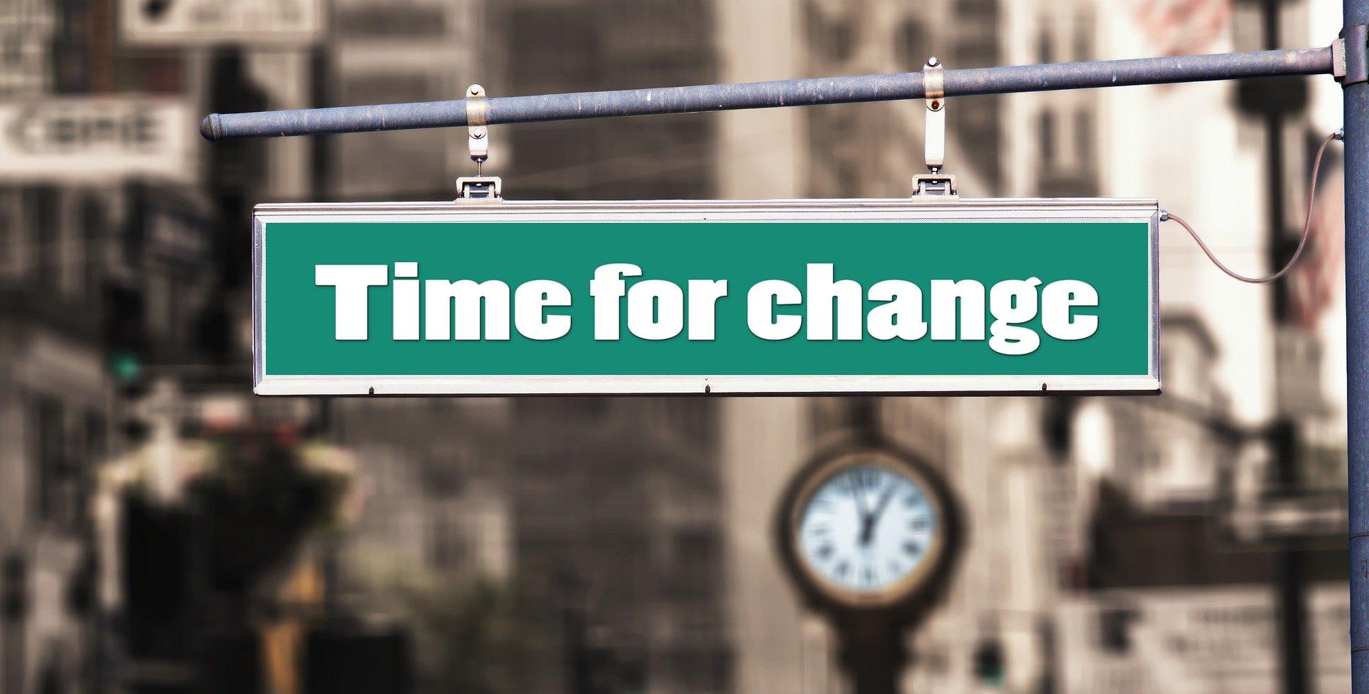 Zeit für Neues